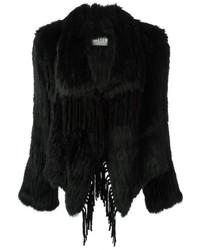 Meteo By Yves Salomon Fringed Fur Coat