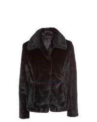 New Look Black Faux Fur Jacket