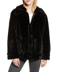 Salma faux fur jacket medium 8686627