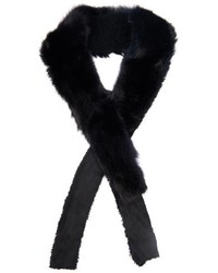 32 Paradis Sprung Frres Balthazar Fox And Shearling Scarf