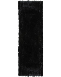 Yves Salomon Black Fur Pocket Scarf