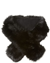 Buji Baja Faux Fur Long Collar Scarf