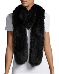 Donna Salyers Faux Fur Scarf