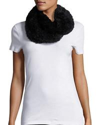 Calvin Klein Faux Fur Infinity Loop Scarf