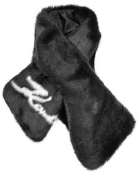 Karl Lagerfeld Faux Fur Scarf
