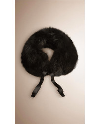 Burberry Fox Fur Collar