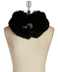 Surell Fox Fur Collar