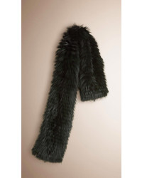 Burberry Fox Fur Scarf