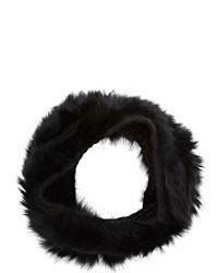 Buji Baja Fur Knit Infinity Scarf