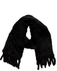 Fur Knit Mink Scarf