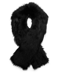 Michael Kors Michl Kors Fox Fur Shawl Collar