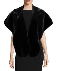 GORSKI Mink Fur Stole Black