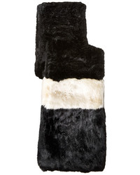 Kate Spade New York Faux Rabbit Fur Stole