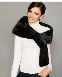 The Fur Vault Pull Though Mink Fur Stole