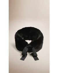 Burberry Rabbit Fur Collar