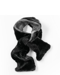 Simply Vera Vera Wang Faux Fur Reversible Slip Through Scarf