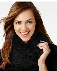 INC International Concepts Solid Shaggy Faux Fur Cowl Only At Macys