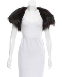 J. Mendel Fox Fur Shrug