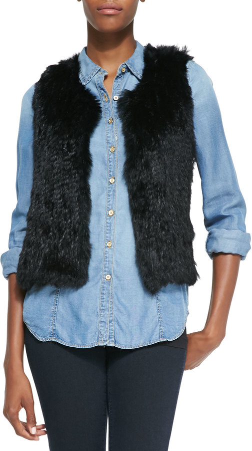 Stay on-trend in a faux fur vest, made by INC International Concepts, Charter Club or Jones New York. Faux fur can make up the trim or be an all-over fabric. Make a fashion statement in this lightweight, comfortable, easy to clean material.