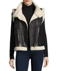 Danay fur vest black medium 4948739