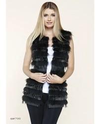 Dolce Cabo Natural Fur Vest