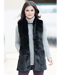 Donna Salyers Fabulous Furs Every Wear Vest