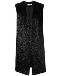 Lanvin Faux Fur Waistcoat
