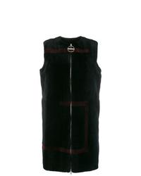 Givenchy G Motif Shearling Coat