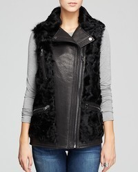 MICHAEL Michael Kors Michl Michl Kors Vest Leather Lamb Fur