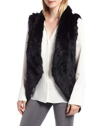 La Fiorentina Ombre Genuine Rabbit Fur Vest