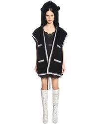 Dolce & Gabbana Panther Faux Fur Vest
