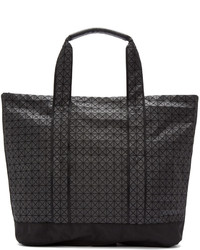 Black geometric tote bag medium 611669