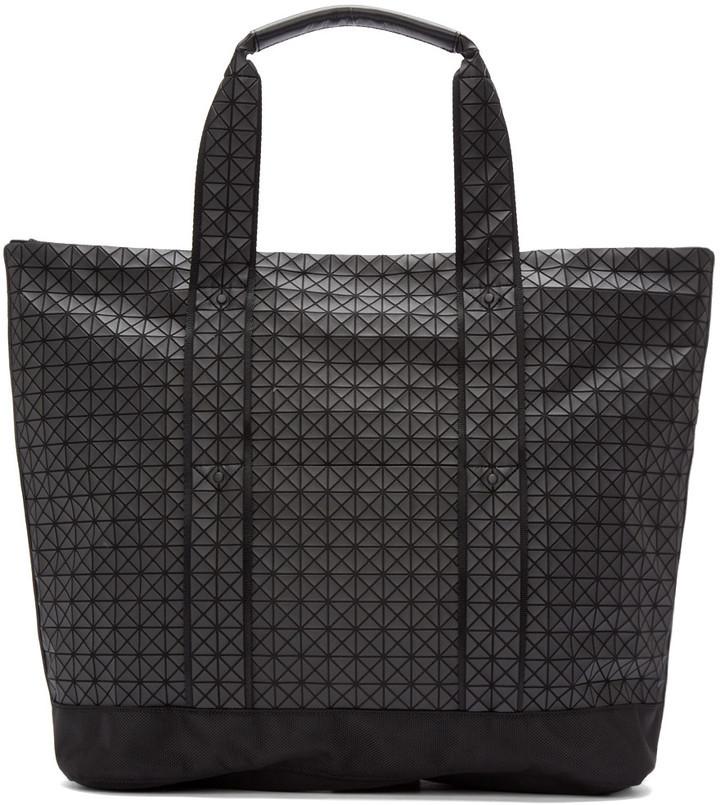 f80eafc9f9 ... Bao Bao Issey Miyake Black Geometric Tote Bag ...