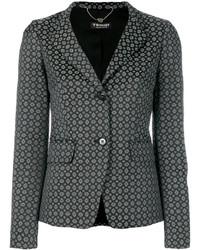Twin-Set Geometric Jacquard Blazer