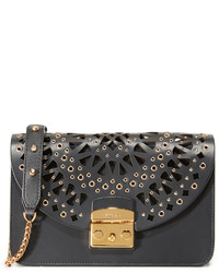Furla Eyelet Metropolis Shoulder Bag
