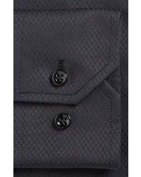 913fbc49e23d3 Armani Collezioni Slim Fit Textured Dress Shirt, $295 | Nordstrom ...