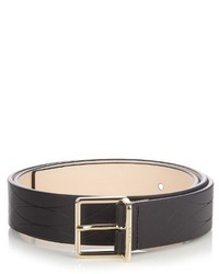 Paul Smith Shoes Accessories No 9 Embossed Leather Belt
