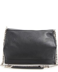 534adc9288 ... Givenchy Mini Pandora Leather Crossbody Bag Black