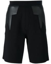 Neil Barrett Geometric Insert Shorts