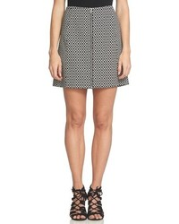 1 STATE 1state Zip Front A Line Miniskirt