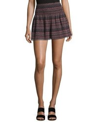 Alphosine geo stripe mini skirt medium 4948909