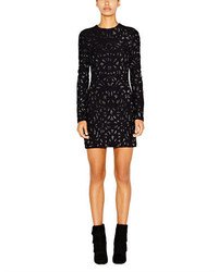 Geo sequined sheath dress medium 128414