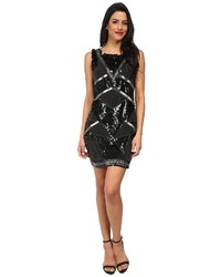 Kas New York Gianna Geo Beaded Dress