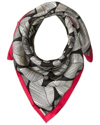BCBGMAXAZRIA Tribal Shield Square Scarf Scarves