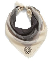 Vince Camuto Optic Geo Silk Scarf