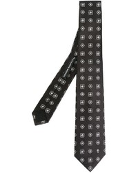 Alexander McQueen Geometric Embroidered Tie
