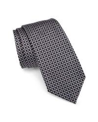 Emporio Armani Grid Silk Tie