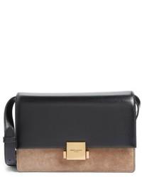 Saint Laurent Medium Bellechasse Suede Leather Shoulder Bag