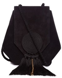 Saint Laurent Opium 3 Classic Suede Cross Body Bag