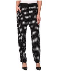 Calvin Klein Print Tapered Pants